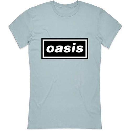 Tricou Damă Oasis Decca Logo