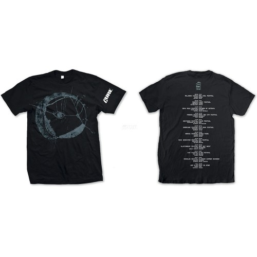 Tricou The Cure Eyemoon Logo