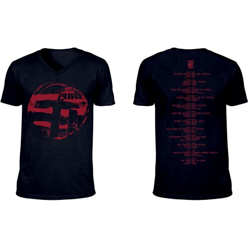 Tricou The Cure Eastern Red Logo