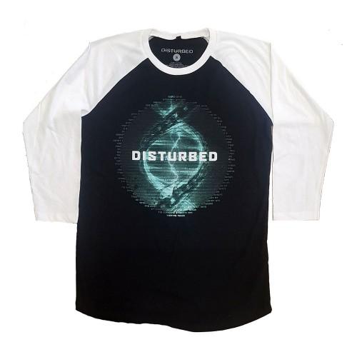 Tricou Mânecă 3/4 Disturbed Binary