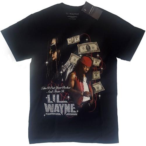 Tricou Lil Wayne Got Money Homage