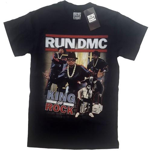 Tricou Run DMC King of Rock Homage