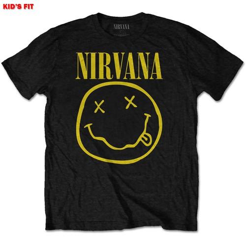 Tricou Copil Nirvana Yellow Smiley