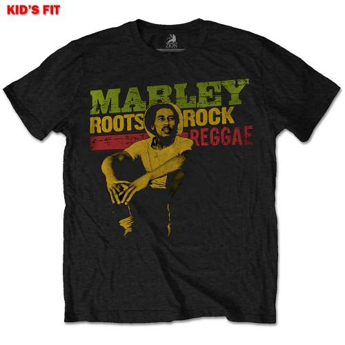 Tricou Copil Bob Marley Roots, Rock, Reggae