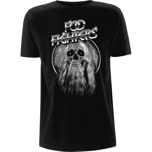 Tricou Foo Fighters Bearded Skull