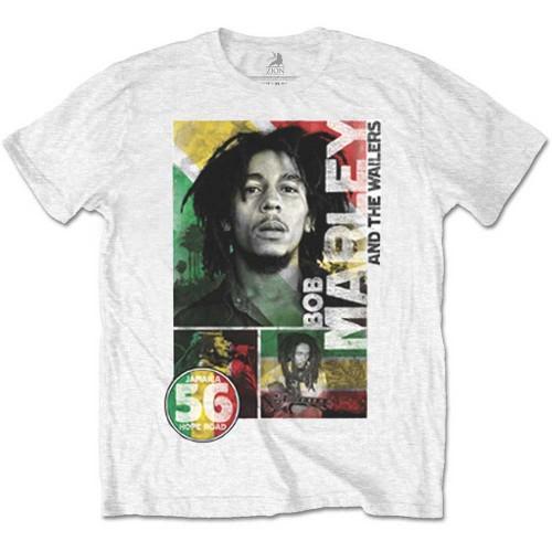 Tricou Bob Marley 56 Hope Road Rasta