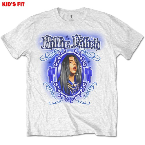 Tricou Copil Billie Eilish Airbrush Photo