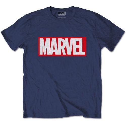 Tricou Marvel Comics Marvel Box Logo