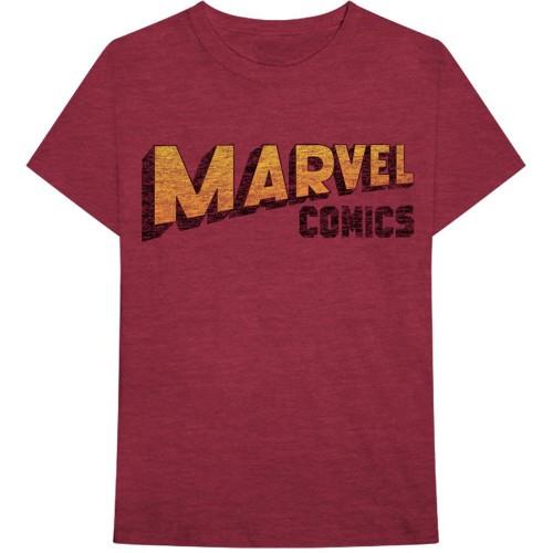 Tricou Marvel Comics Warped Logo