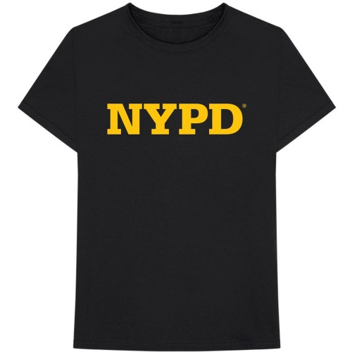 Tricou New York City NYPD Text Logo