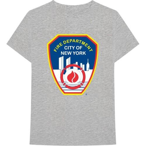 Tricou New York City Fire Dept. Badge