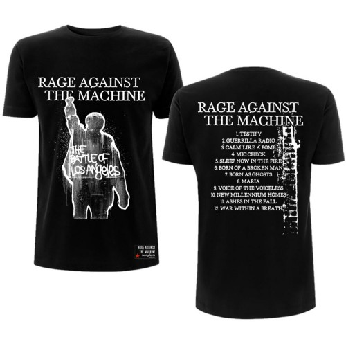 Tricou Rage Against The Machine BOLA Album Cover