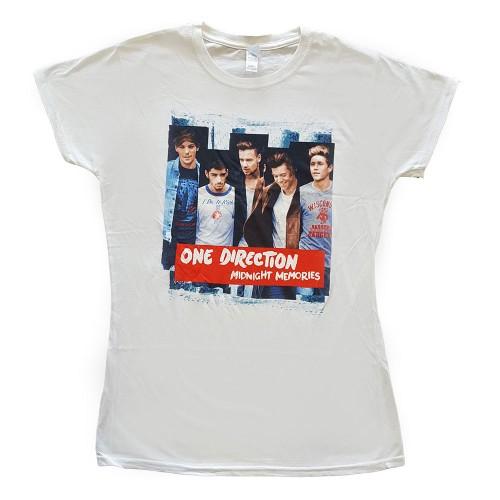 Tricou Damă One Direction Midnight Memories Strips