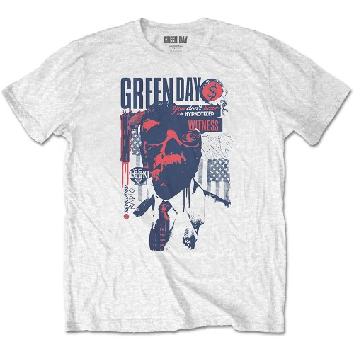 Tricou Green Day Patriot Witness