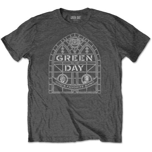 Tricou Green Day Stained Glass Arch