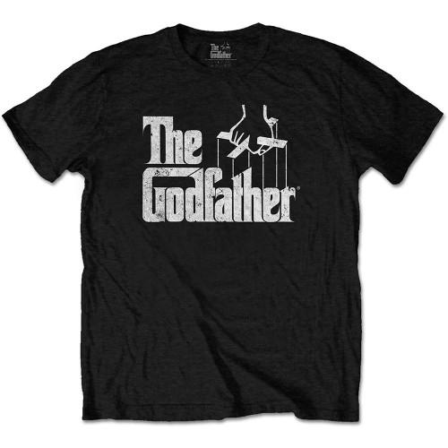 Tricou The Godfather Logo White