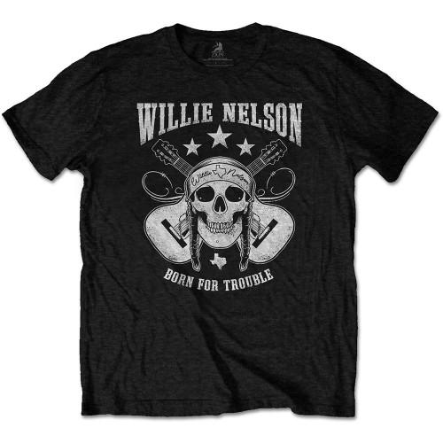 Tricou Willie Nelson Skull