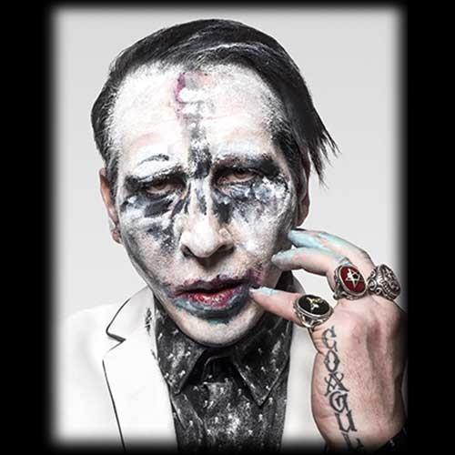 Tricou Marilyn Manson Heaven Upside Down Tour (Winter 2017)