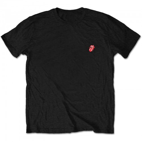 The Rolling Stones Unisex Tee: Classic Tongue (Back Print/Retail Pack)