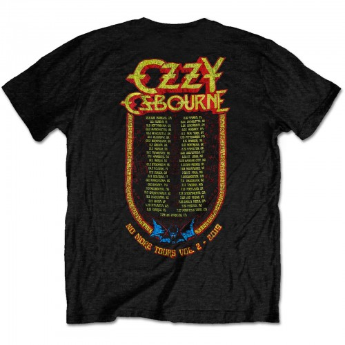 Tricou Ozzy Osbourne Bat Circle (editie limitata, articol de colectie)