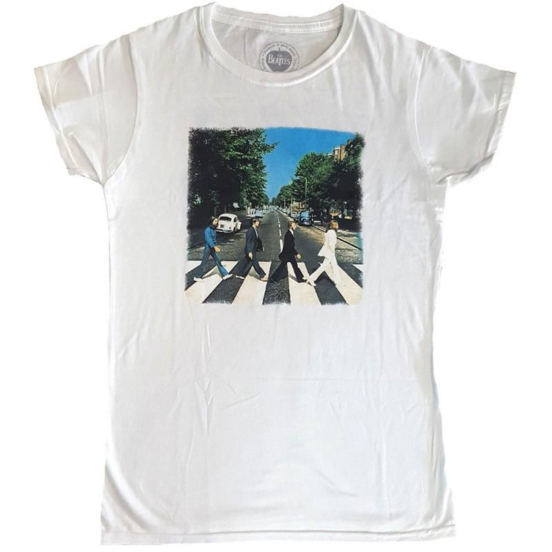 Tricou Damă The Beatles Abbey Road