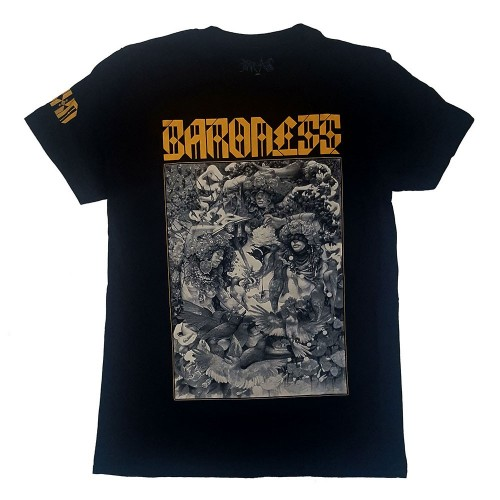 Tricou Baroness Gold & Grey Dateback