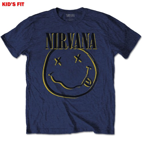 Tricou Copil Nirvana Inverse Smiley