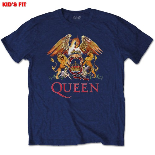 Tricou Copil Queen Classic Crest