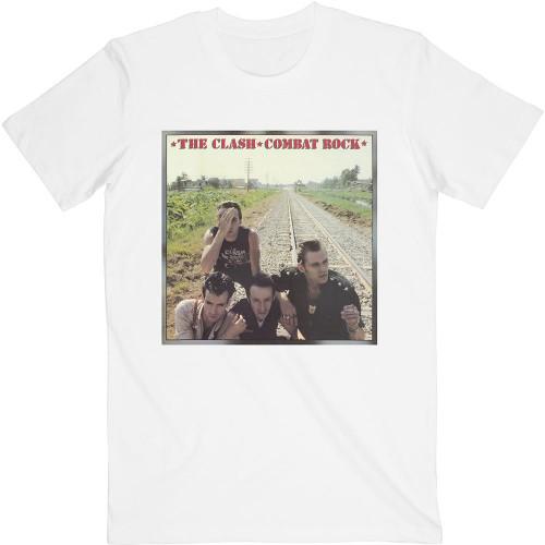 Tricou The Clash Combat Rock