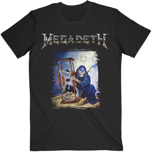 Tricou Megadeth Countdown Hourglass