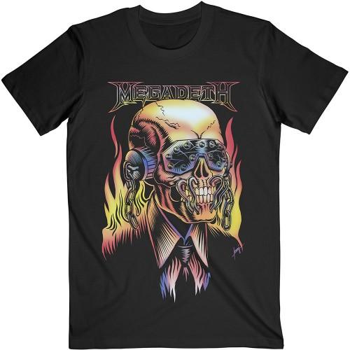 Tricou Megadeth Flaming Vic