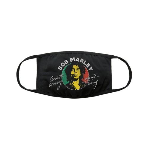 Mască textilă Bob Marley Face Don't Worry