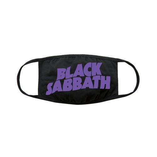 Mască textilă Black Sabbath Face Wavy Logo