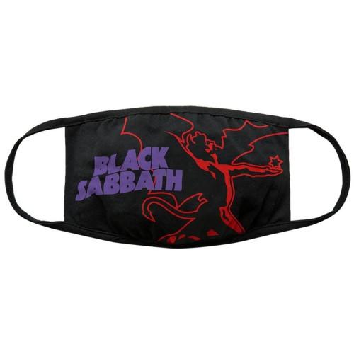 Mască textilă Black Sabbath Face Red Thunder V. 1