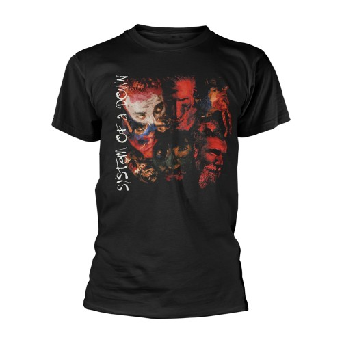 Tricou System Of A Down Painted Faces