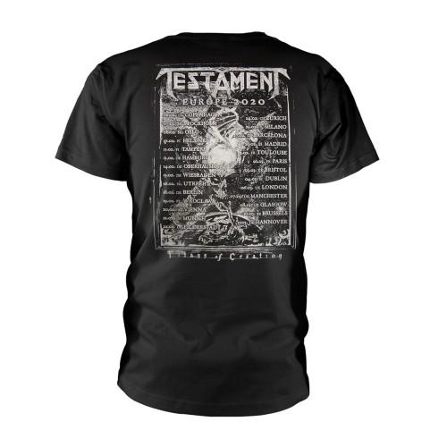 Tricou Testament Europe 2020 Tour