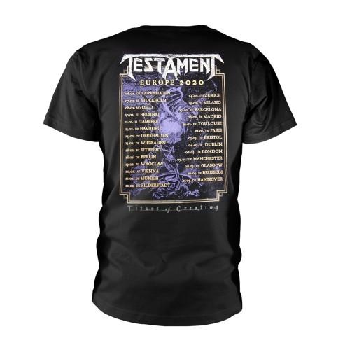 Tricou Testament Titans Of Creation (Colour) Europe 2020 Tour