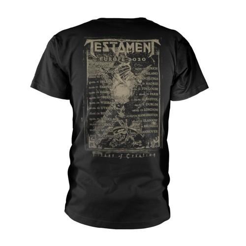 Tricou Testament Wiii Europe 2020 Tour
