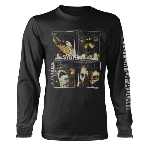 Tricou Maneca Lunga System Of A Down Face Boxes