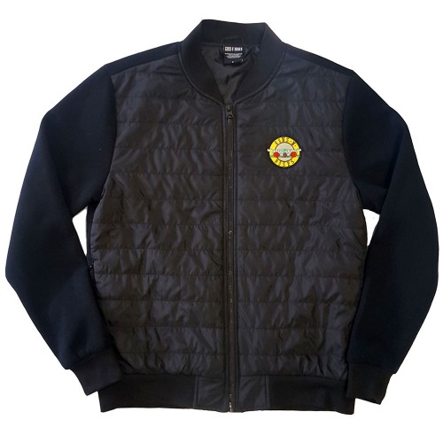 Jachetă Matlasată Guns N' Roses Classic Logo