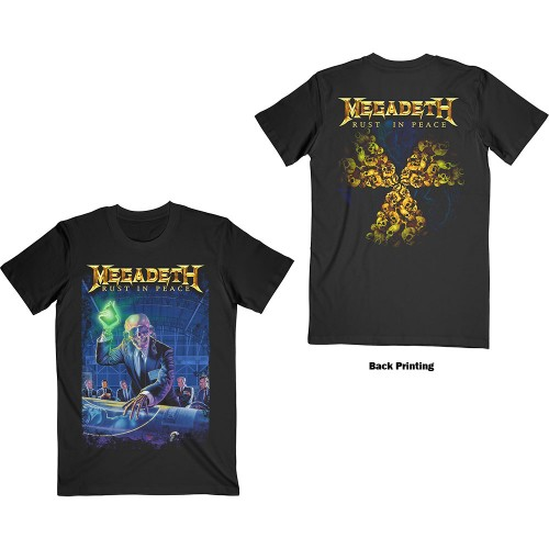 Tricou Megadeth Rust In Peace 30th Anniversary