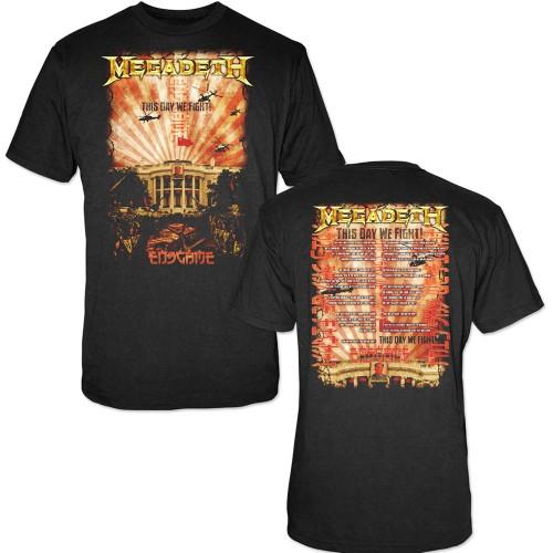 Tricou Megadeth China Whitehouse