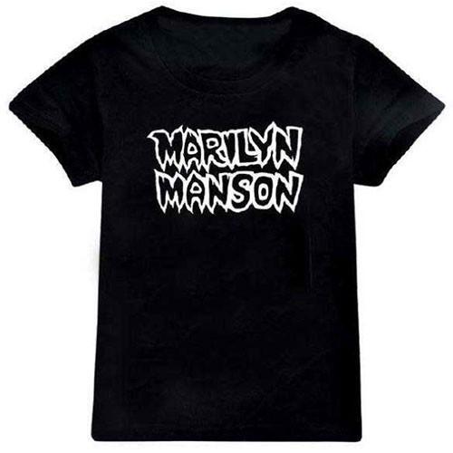Tricou Copil Marilyn Manson Classic Logo