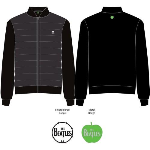 Jachetă Matlasată The Beatles Drum Logo
