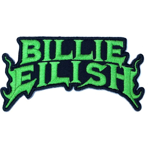 Patch Billie Eilish Flame Green