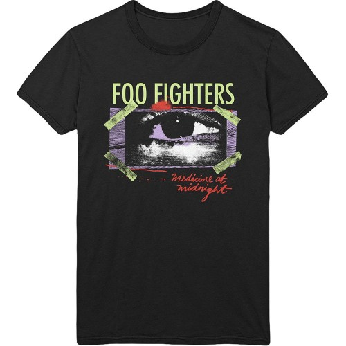 Tricou Foo Fighters Medicine At Midnight Taped