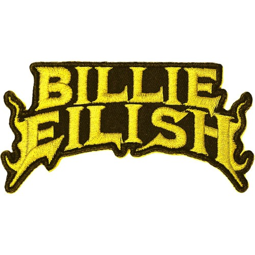 Patch Billie Eilish Flame Yellow