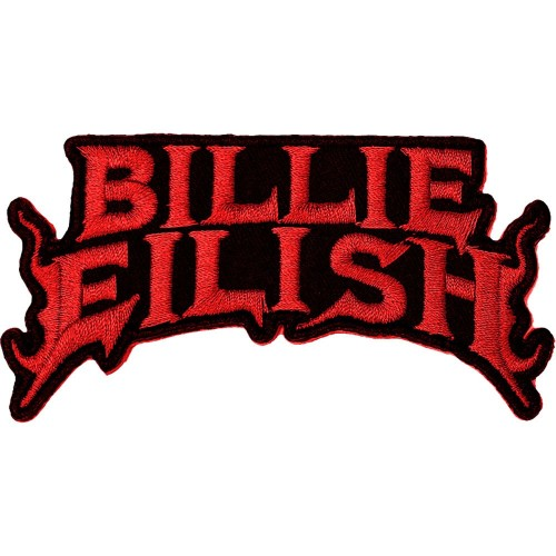 Patch Billie Eilish Flame Red