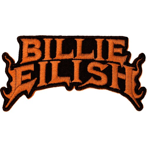 Patch Billie Eilish Flame Orange