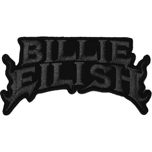 Patch Billie Eilish Flame Black